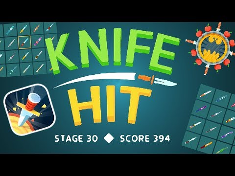 KNIFE HIT - STAGE 30 (HIGHSCORE)