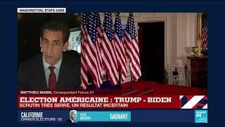 Élection américaine : un scrutin encore très serré, le résultat reste incertain