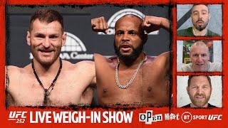 UFC 252 official weigh-ins: Miocic v Cormier 3 | Open Mat Live