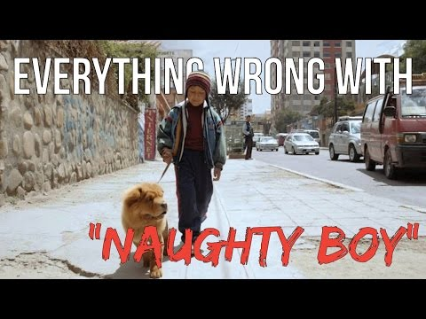 Everything Wrong With Naughty Boy -