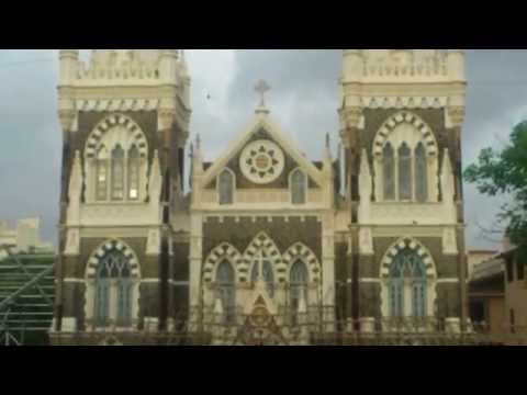 Mount Mary Church Bandra - Complete Outside View