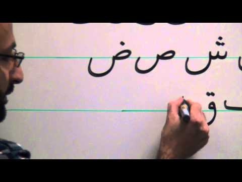 Persian Grammar: Pronouncing and Writing the Persian Alphabet