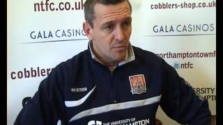Aidy Boothroyd says Chris Hackett will be fit for the Hartlepool United game