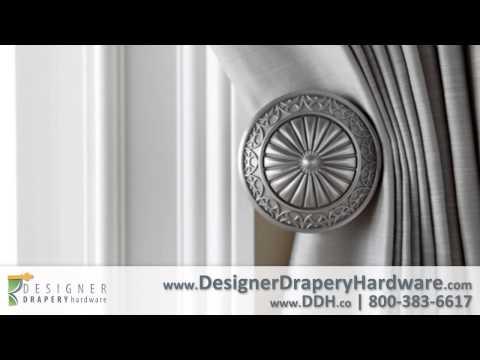 Kirsch Drapery Hardware - Designer Metals Curtain Rods