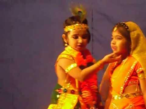 mizhiyazhaku nirayum radha by ammu as Krishna.....