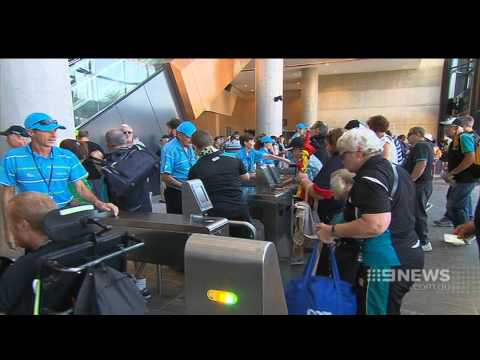 Adelaide Oval Fight | 9 News Adelaide