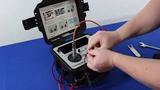Testing Velometers / Velocimeters with the Portable Vibration Calibrator