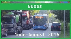 Bus videos: June-August 2016