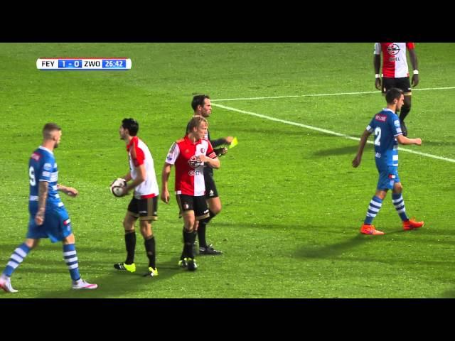 Samenvatting KNVB beker Feyenoord - PEC Zwolle