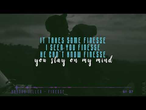 Bryson Tiller - Finesse(Drake Cover) W/ Lyrics