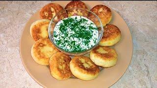 ДВЕ картошки ПАЧКА творога и ВКУСНЕЙШЕЕ блюдо ГОТОВО СЫРНИКИ из картофеля и творога