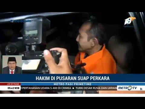 Hakim Diduga Doyan Suap, Kena OTT KPK