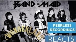 BAND-MAID / Wonderland (Feb. 14th, 2020) - REACTION    #BANDMAID #CONQUEROR #バンドメイド
