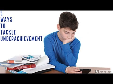 5 Ways to Tackle Underachievement Intellectual Giftedness #9