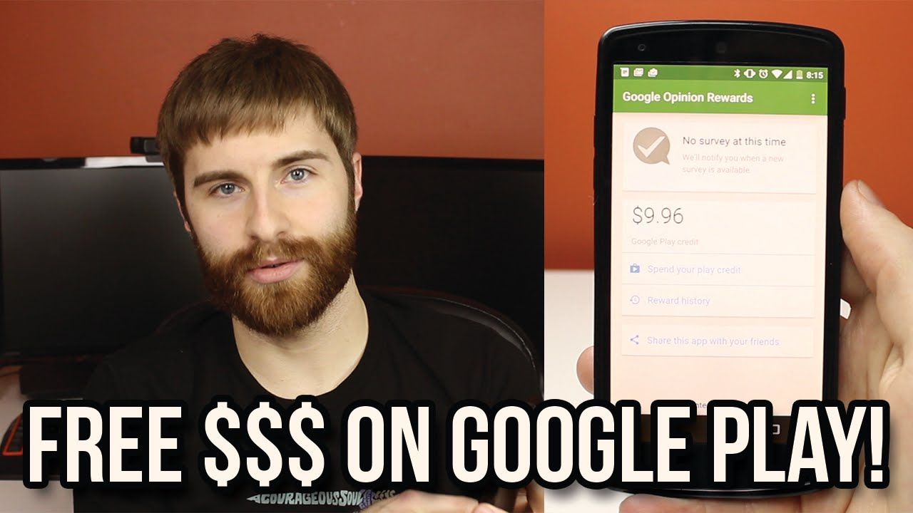 How To Get Free Money For The Google Play Opinions Rewards You