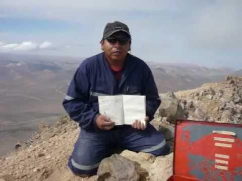 CUMBRE VOLCAN TACORA - CUMUNA GENERAL LAGOS- VISVIRI - CHILE