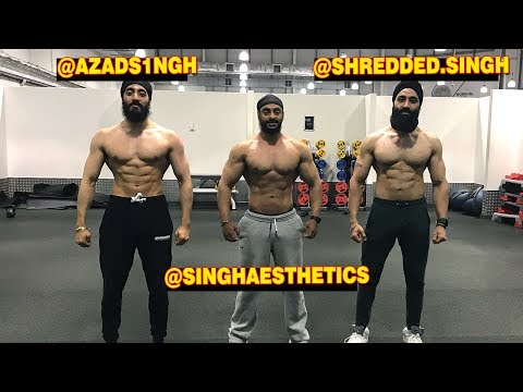 Working Out With @Shredded.Singh & @SinghAesthetics