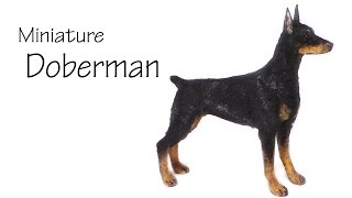 Miniature Doberman - Polymer Clay Tutorial