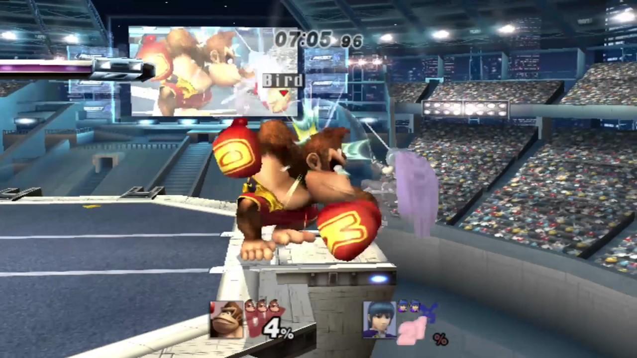 Bramble Blast Off - A Project M Donkey Kong Combo Video ...