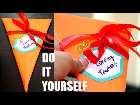 Pen Gift Pack | Traingular Pen Packaging for your Teacher | Wrap your Gift