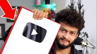 finally got silver play button #cyberbaba