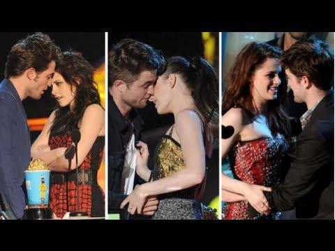 Kristen Stewart and Robert Pattinson's Best Kiss Wins at the MTV Movie Awards!