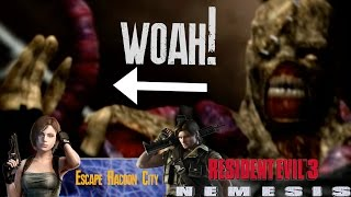 How To Get The Fuse And Cable In Resident Evil 3 [#05] [LongPlay] [Hard Mode] [Barry Ending]