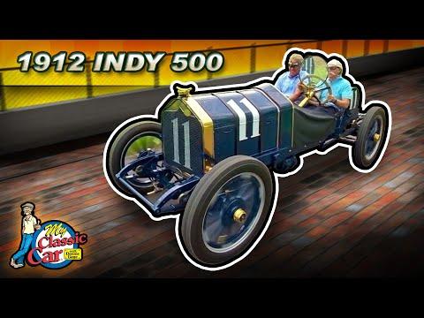 Vintage Indy Race Car