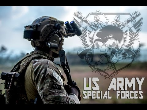 "U.S. Army Special Forces / Green Berets / ""De Oppresso Liber"""
