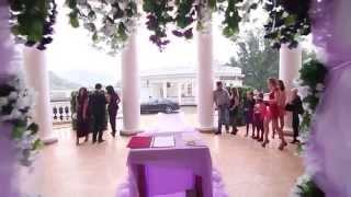 Свадьба в Нальчике фиолетовая и сиреневая палитра VIP LUXURY Wedding