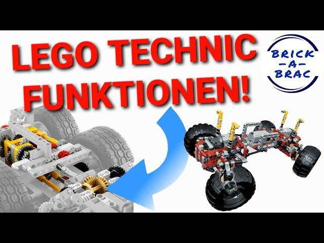 3 Funktionen, die LEGO® unbedingt in der TECHNIC-Serie umsetzen muss!