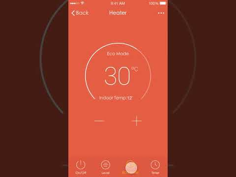 MYLEK Smart App Controlled Electric Panel Heater with 24/7 Timer