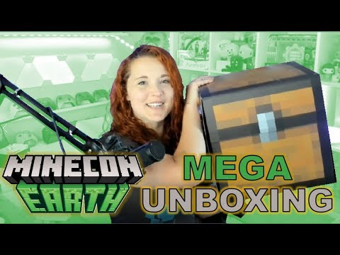 MINECRAFT MEGA UNBOXING