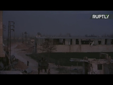 Eastern Ghouta: Evacuation of civilians (STREAMED LIVE)