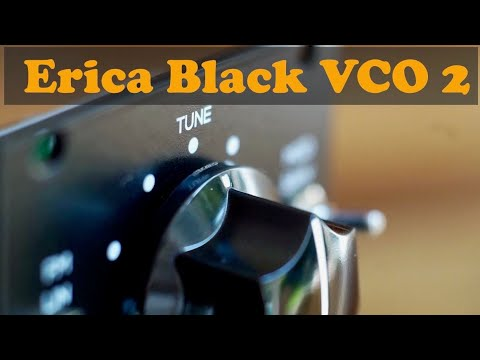 Erica Synths Black VCO2 - Complete Overview (feat. Black VCO Expander)