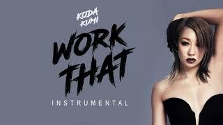 Koda Kumi - Work That ( INSTRUMENTAL)カラオケ  倖田來未