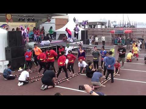 Pinoy'd @ FilFest 2017 Superhero Tinikling Challenge - Norfork Waterside VA (14 Oct 2017)