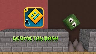 Monster School Geometry Dash Minecraft Animation