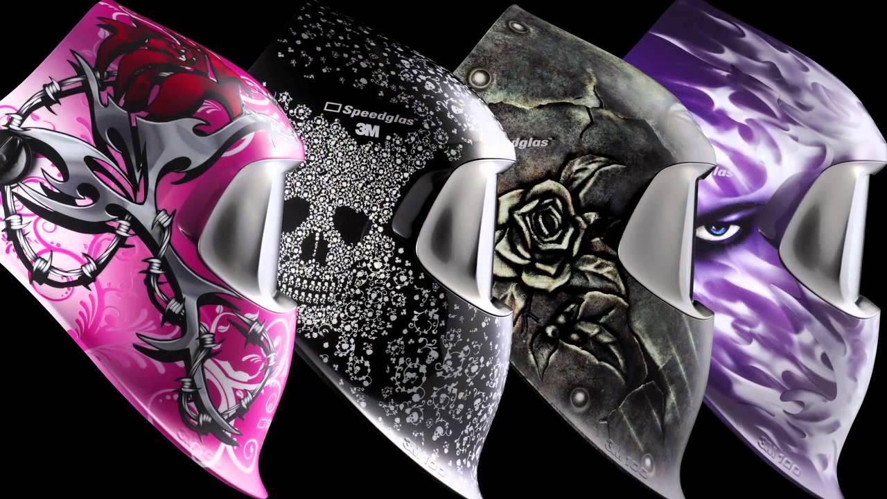 M Safety Solutions_m Speedglastm  Series Welding Helmet Womens Collection Short Youtube