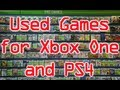No More Used Games for Xbox 1 and PS4?