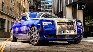 2015 Rolls Royce Ghost Series II Test Drive in London HD