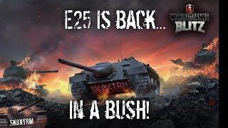 E25 is back...in a bush - Wot Blitz