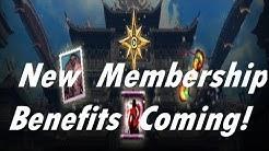 Blade & Soul - New Membership Benefits!