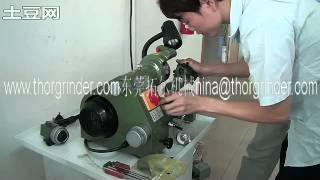 lathe tool grinding,universal cutter grinder ,turning tool resharpening operation vedio