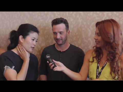 Thats My E @ Comic Con 2016 s Jadyn Wong and Eddie Kaye Thomas from Scorpion