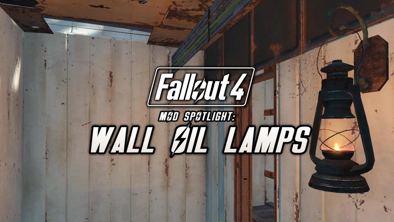 Steam Community :: Video :: Mod Spotlight: Wall Oil Lamps (Fallout 4)