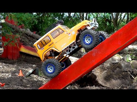 RC ADVENTURES - New Contenders - BACKYARD TRAiL COURSE