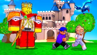 Can We Survive This EVIL KING In Roblox Lost Story?! (Story Game) screenshot 5