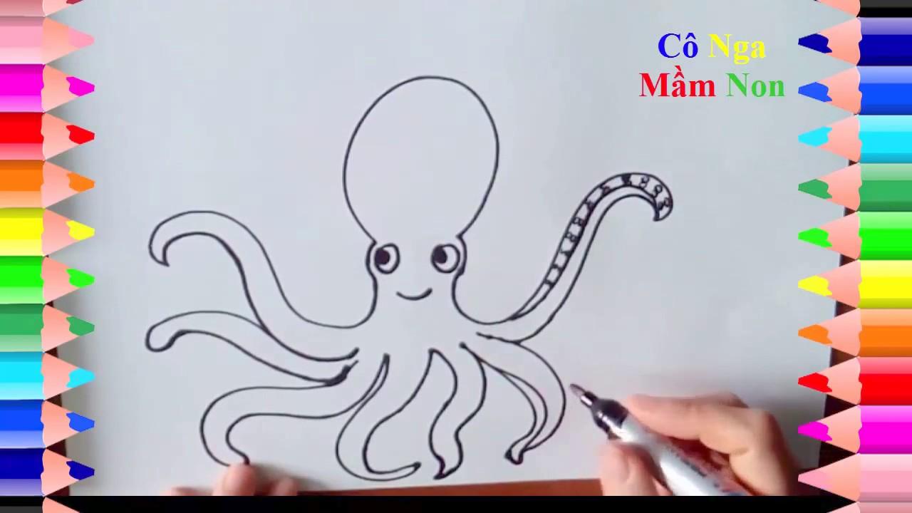 Hướng dẫn vẽ các con vật – How to draw some  animal