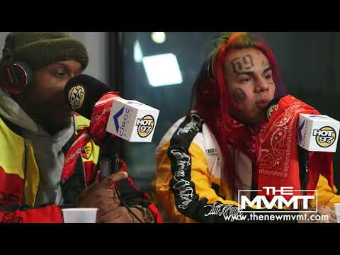 Tekashi 6ix9ine talks about his first time performing in the United States at the Dip Set Concert